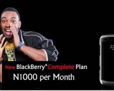 MTN blackberry plan