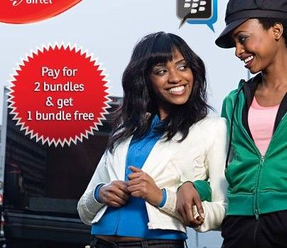 airtel Blackberry one month free