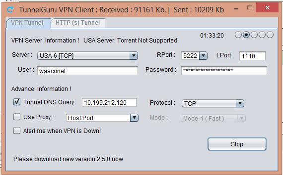 Browse Free on MTN With TunnelGuru VPN | Wasconet