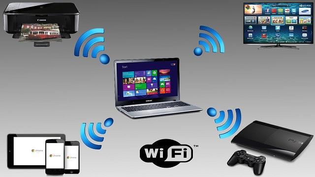 Wireless hotspot on computer