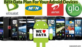 Android data plans
