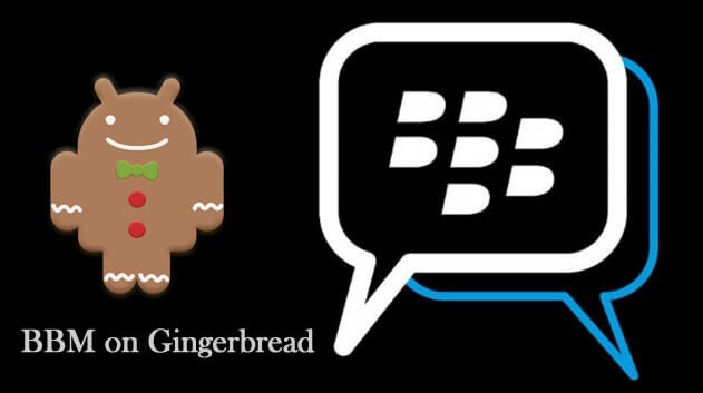 BBM for ginger bread