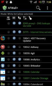 AFWall+ (Android Firewall +) affirewall-180x300