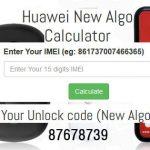 Huawei new algo unlocker