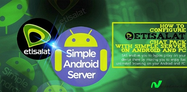 etisalat smartpak simple android server