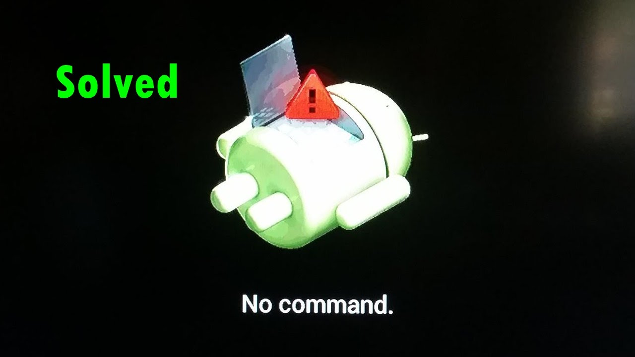android moto g no command