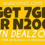 MTN 7gb for 2000 naira